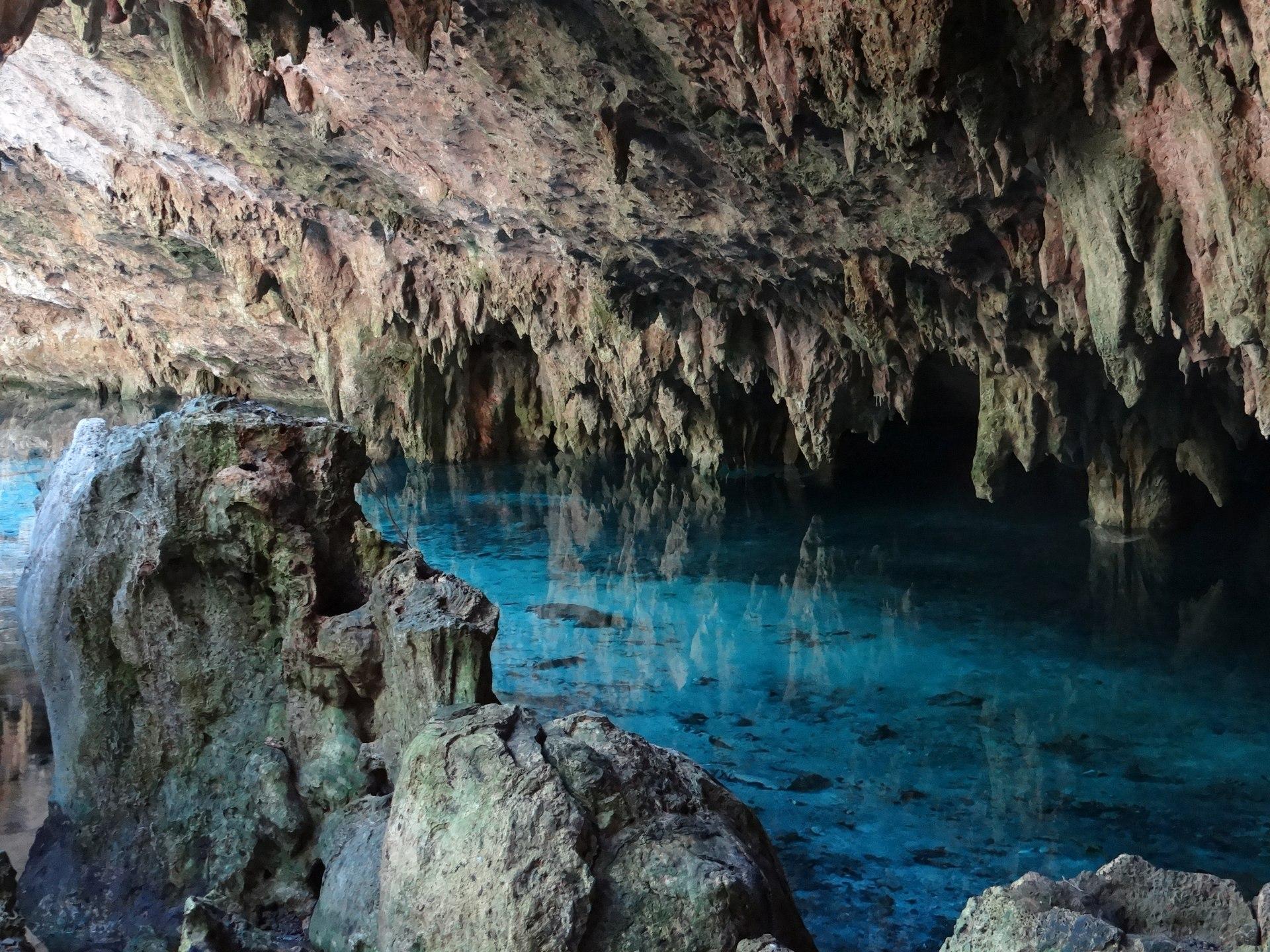En el cenote Sac Actún se encontró el sitio arqueológico bajo el agua más grande.
